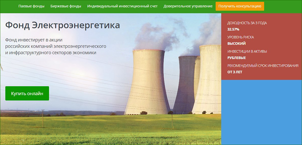 Сбербанк Электроэнергетика