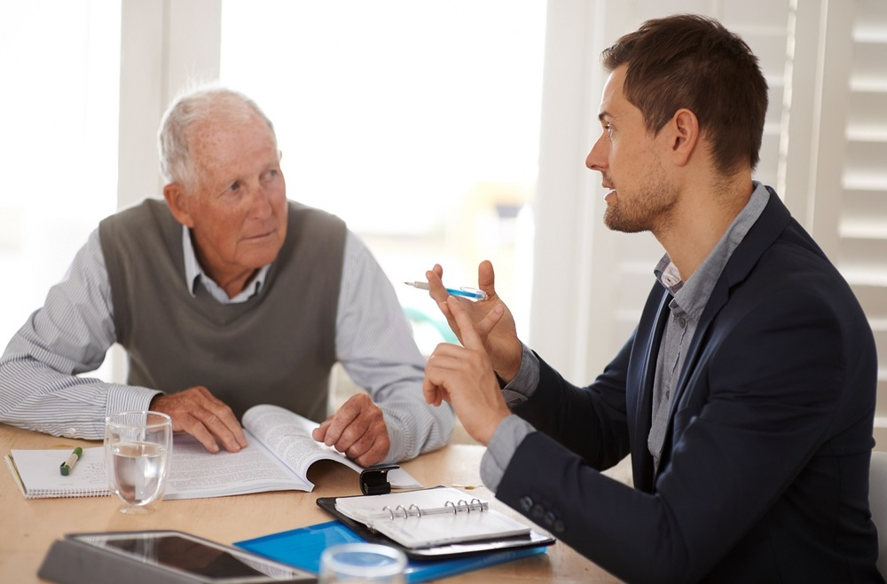 Консультация пенсионера