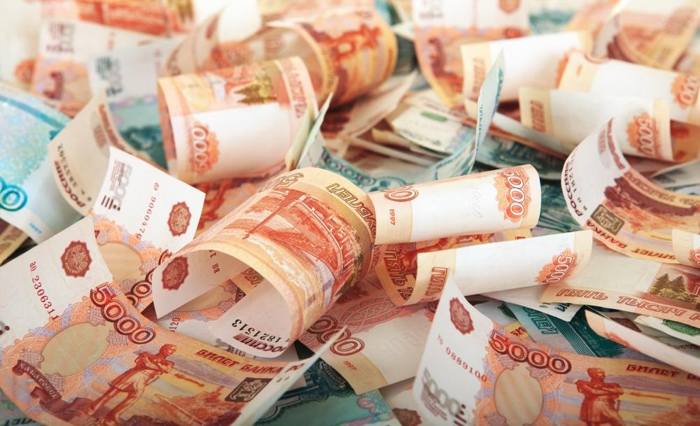 Много рублей
