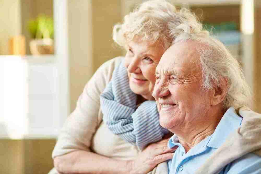 Муж и жена в возрасте