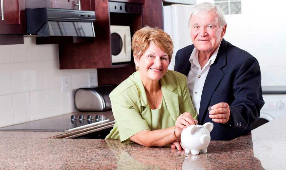 Накопление пенсионеров