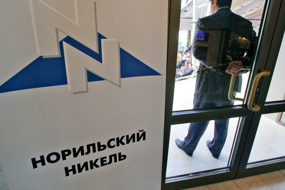 Норильский никель в России